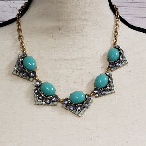 Stella and Dot Turquoise Statement Necklace